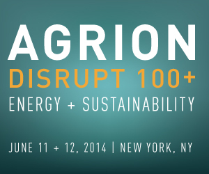 AGRION Disrupt 100+: Innovation in Energy and Sustainability