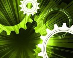 Green-gears-machine