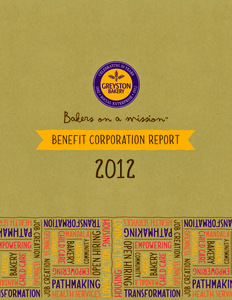 Bakers On A Mission, New York's First Benefit Corporation Launches Benefit Report - Press Releases on CSRwire.com