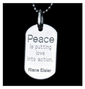 "Peacemaker Quotes Peacetags Announces 2009 Holiday ""peacebaby"" Necklace  Press ."
