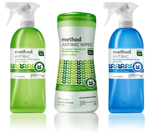 Method launches its first epa registered antibacterial cleaning line press releases on for Cleanwell botanical disinfectant bathroom cleaner