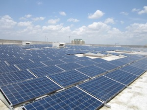 IKEA Plugs-in Solar Panels at Dallas-area Store in Frisco, TX as