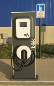 Ikea plugs in 3 electric vehicle charging stations in for Ikea frisco home furnishings frisco tx 75034