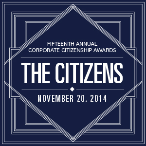 Congratulations to all of the companies honored as finalists in the U.S. Chamber of Commerce Corporate Citizenship Awards.