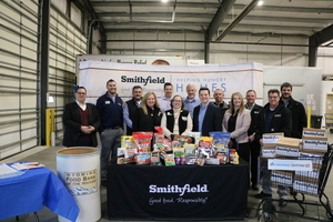 Smithfield Foods Donates More Than 37,000 Pounds of Protein To