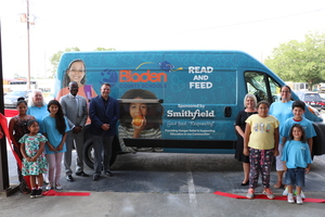 Smithfield Foods Contributes $60,000 to Bladen County Read