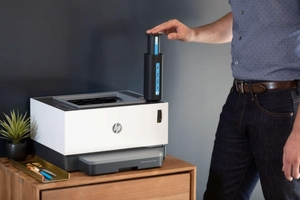 HP Debuts World's First Toner Tank