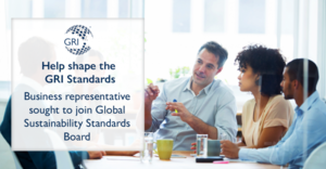 Call for Applicants to Support GRI's Standard Setting