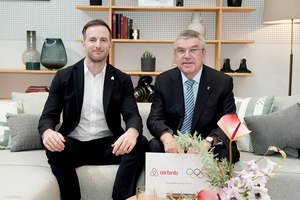 IOC and Airbnb Announce Major Global Olympic Partnership for Sustainability