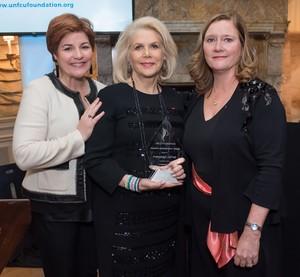 With_award_-_chris_francine_pam