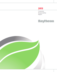 Raytheon-2013-csr-report-cover